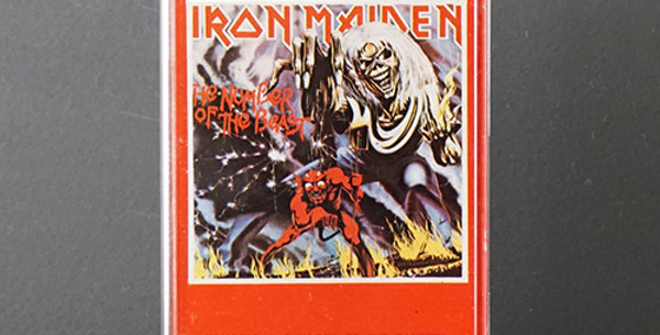 Iron Maiden - The Number of the Beast (usado)