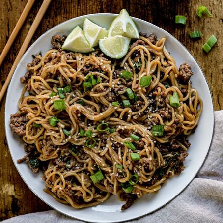 Recipe: Beef Ramen Noodles