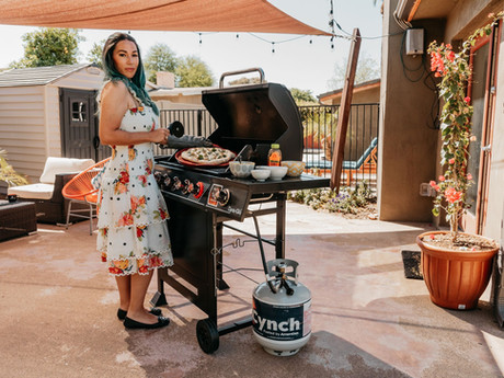 Backyard Grilling: Cynch Propane Delivery