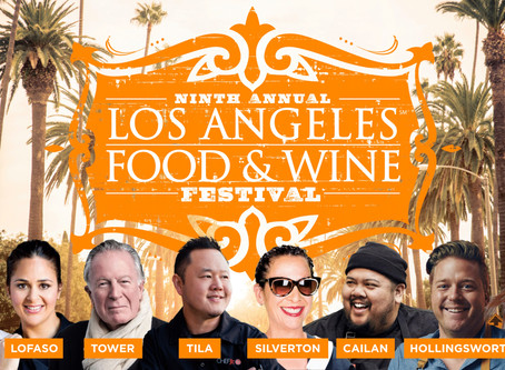 9th annual Los Angeles Food & Wine, August 22-25