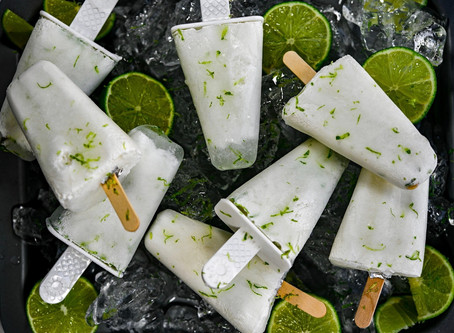 Coconut Lime Popsicles and Strawberry Watermelon Floats
