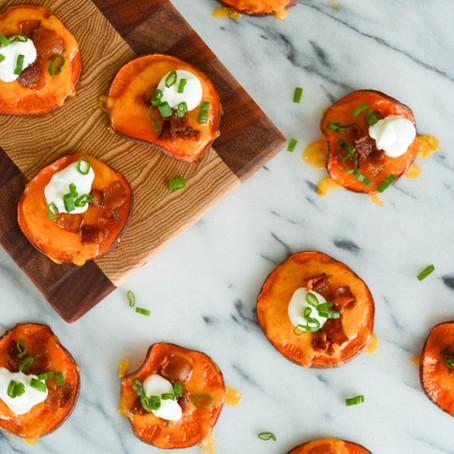Loaded Sweet Potato Rounds