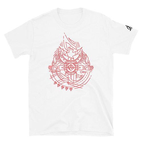 Holy Spirit Red Short-Sleeve Unisex T-Shirt