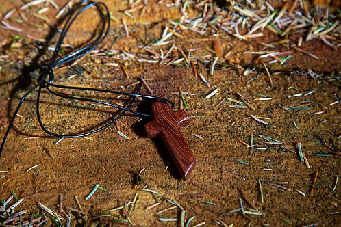 Red Zebrawood (West Africa) Cross