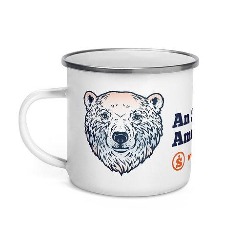 The Great Outdoors Polar Bear Enamel Mug