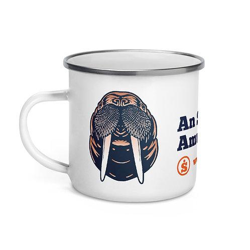 The Great Outdoors Walrus Enamel Mug