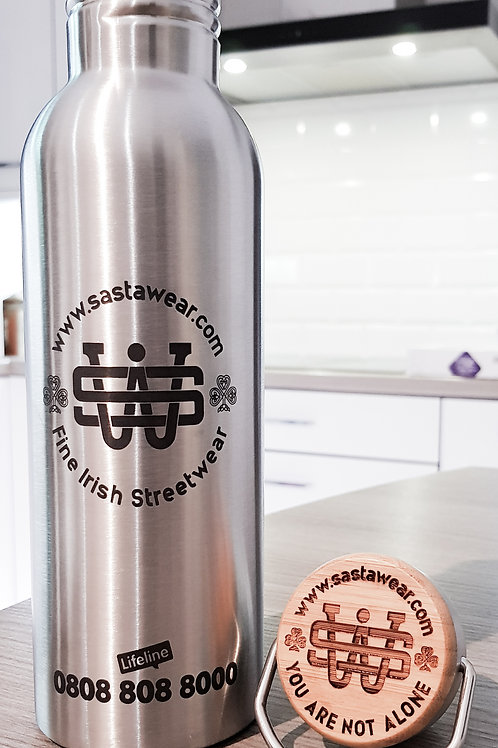 Large Stainless Steel BPA Free Drinks Canteen