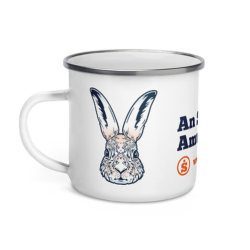 The Great Outdoors Rabbit Enamel Mug