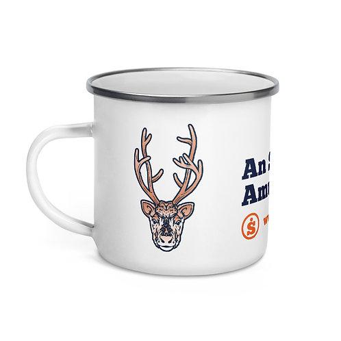 The Great Outdoors Deer Enamel Mug