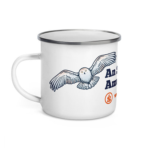 The Great Outdoors Owl Enamel Mug