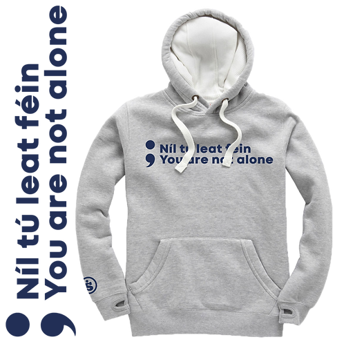 You Are Not Alone Ultra Premium Unisex Hoodie