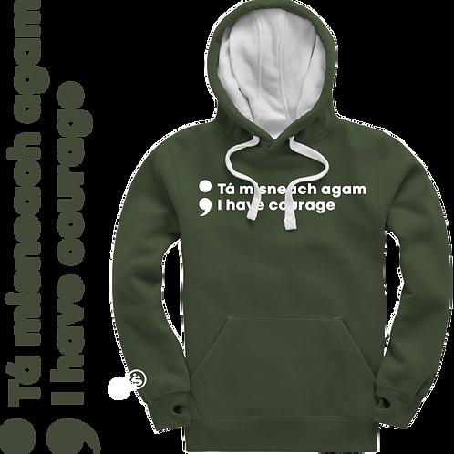I Have Courage Ultra Premium Unisex Hoodie