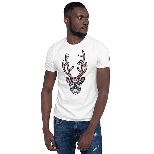 Arctic Deer Short-Sleeve Unisex T-Shirt