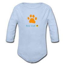 Organic Longsleeve Baby Bodysuit boy cub