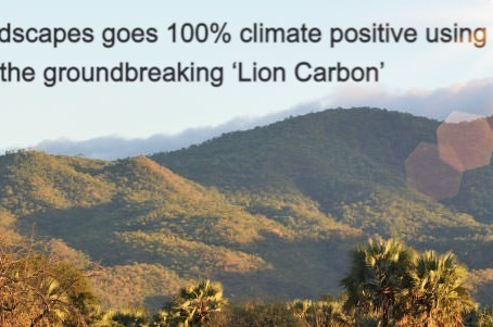Lion Landscapes goes 100% climate positive