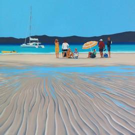 Whitehaven Beach by Daina Deblette