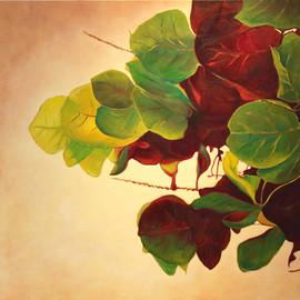 Seagrape Leaves by Daina Deblette.jpg