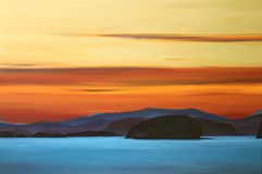 Gulf Islands Sunset by Daina Deblette.jpg