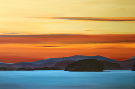 Gulf Islands Sunset by Daina Deblette.jpg