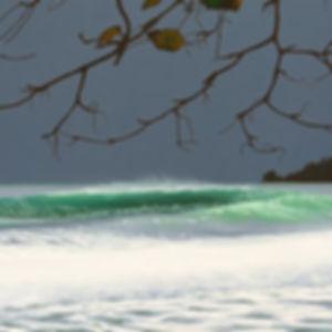 Original oil painting, Playa Paunch, by Canadian artist Daina Deblette