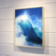 Salt Spring Island artist Daina Deblette offers art classes and workshops year round in encaustic painting, oil painting, watercolour, abstract painting, mixed media, private lessons and more at Ocean Art Studio (show is Daina's encaustic surf art)