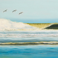 Dominical Beach by Daina Deblette