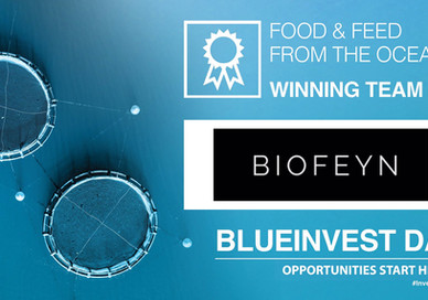 BIOFEYN WINS BLUEINVEST DAY PITCH COMPETITION