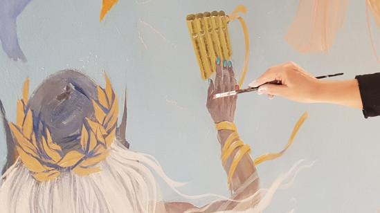 Wandmalerei_Deckenfresko