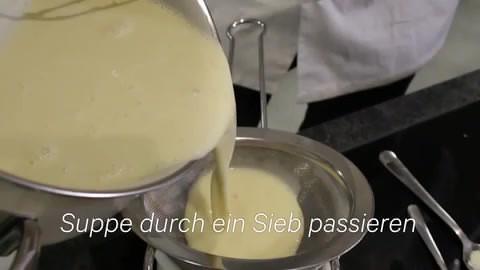 Video über Käsesuppe...