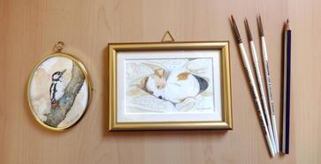 My miniature paintings
