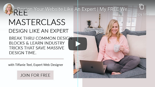Free Masterclass   Design Your Website Like An Expert   Tiffanie Teel