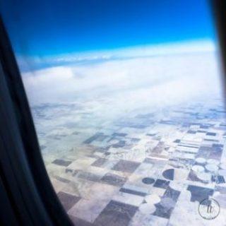 Coming in for a landing into Denver, Colorado