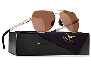 Luenx Polorized Aviator Sunglasses
