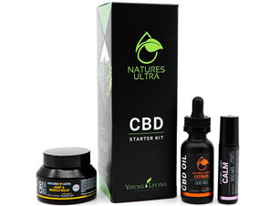 Nature's Ultra Smart Spectrum CBD Starter Kit by Young Living
