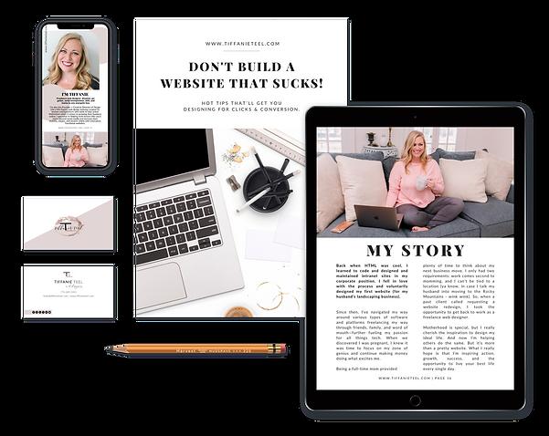 Don't Build a Website That Sucks by Tiffanie Teel