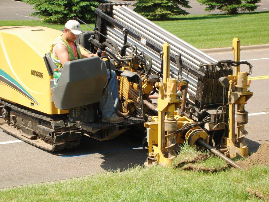 Directional Boring with large machinary in Georgia by Shiflett Enterprises, Inc.