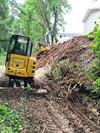 Ground Preparation by large machinary in Newnan GA by Shiflett Enterprises, Inc.