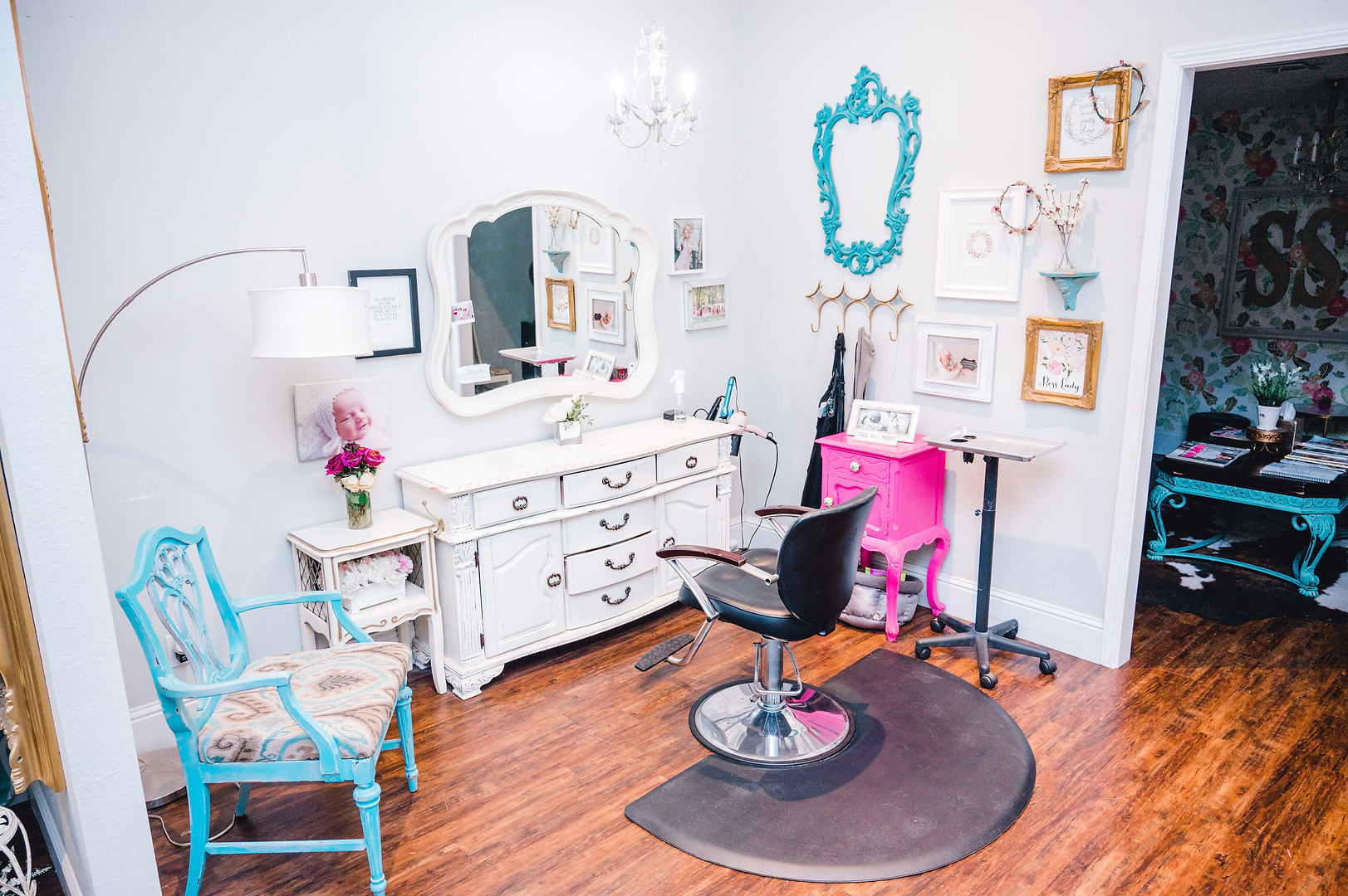 beauty salons