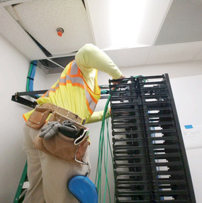 structured cabling certification at Shiflett Enterprises, Inc. Newnan, Georgia