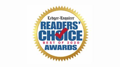 Ledger Enquirer Reader's Choice Best of 2020 Award for Favorite Hair Styling Salon