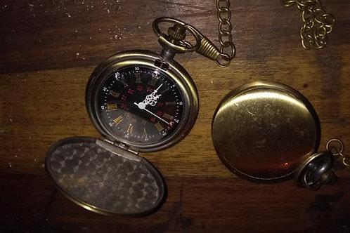 Brass Pocket Watch