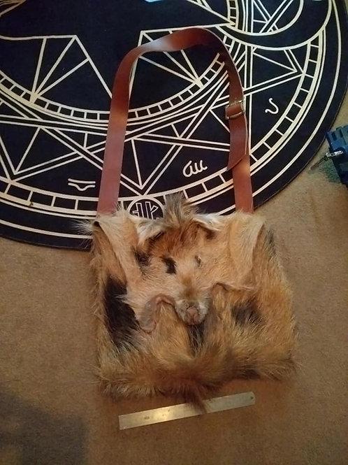 Snouty Sack- Boarskin Bag