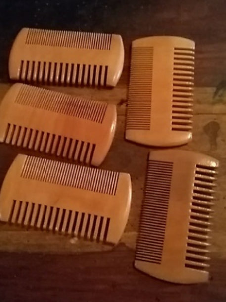 Wooden Combs