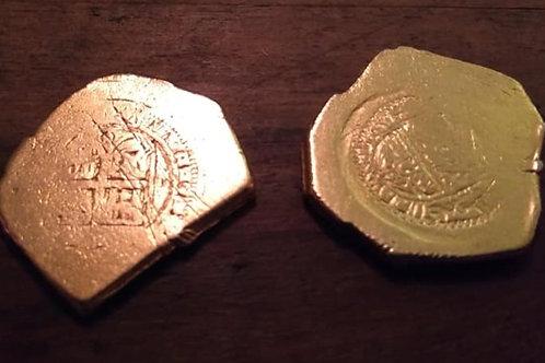 Gold 8 Escudo Coin