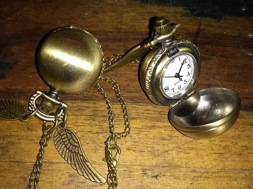 Harry Potter Golden Snitch Watch