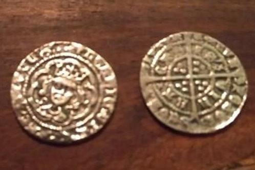 1/2 Groat Henry 6th 1422-1461