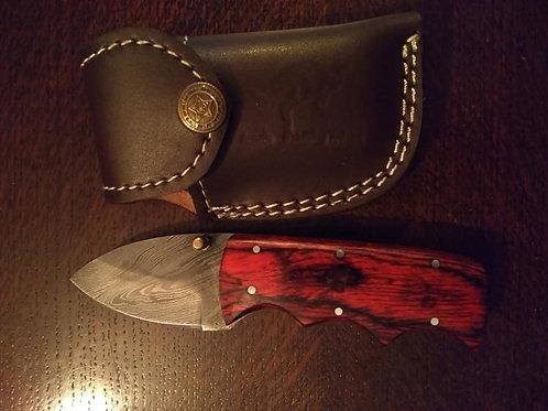 Folding Lock Knife RedHandle