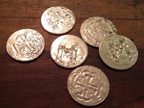 Pirate Treasure Coins- 1Reale