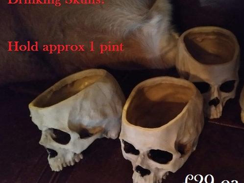 Drinking Skull 1 Pint