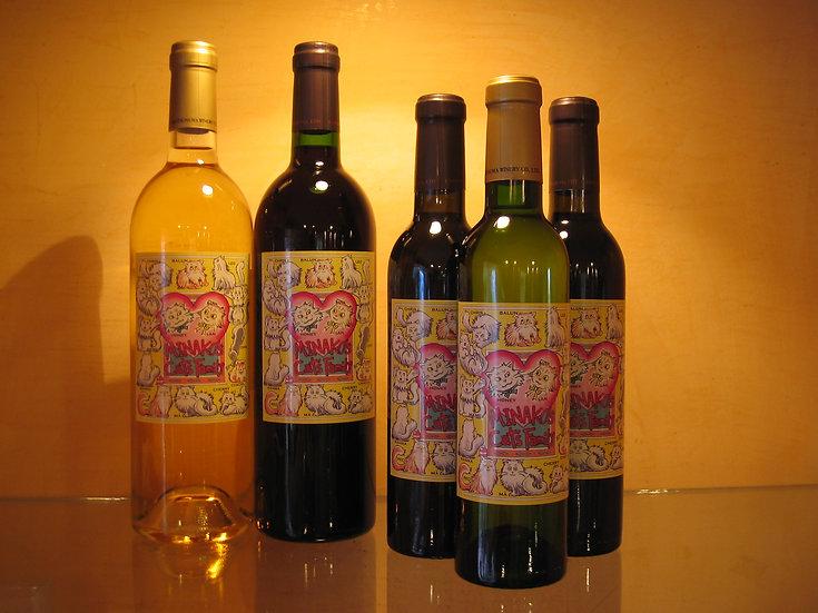 Honey & Chacha オリジナルワイン(赤、白、ロゼ)